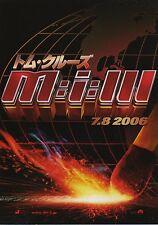 Mission Impossible 3 - Original Japanese Chirashi Mini Poster A - Tom Cruise