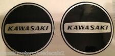 KAWASAKI KE125 KE175 KD125 KD175 Cubierta del Motor Restauración Calcomanías X 2