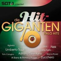 DIE HIT GIGANTEN - ITALO HITS 2 CD MIT ZUCCHERO NEW