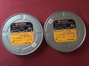 Kodak 16mm 200Τ ΕΧR color negative, TWO x 400ft (sealed/expired/freeze-stored)