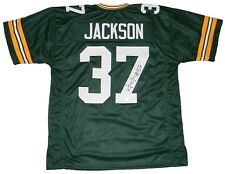 JOSH JACKSON AUTOGRAPHED SIGNED GREEN BAY PACKERS #37 GREEN JERSEY JSA