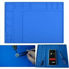 Soldering Mat Heat Resistant Silicone Electronic Repair Work Pad For Soldering