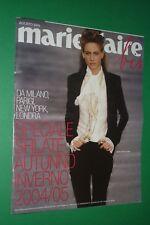 MARIE CLAIRE BIS MODA SFILATE AGOSTO 2004 AUTUNNO-INVERNO NATASA VOJNOVIC CHANEL