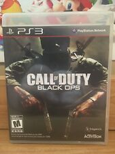 Call Of Duty Black Ops (PlayStation 3) CLEAN COMPLETE