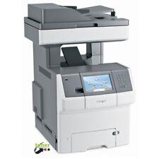 Stampante multifunzione laser bianco e nero Lexmark x736de - Rigenerata