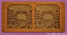 VUE STÉRÉO POLYRAMIQUE JOUR/NUIT, PARIS, BAL MASQUÉ DE L'OPÉRA VERS 1885 -I 1