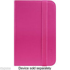 "incase Book Jacket Folio Case for 7"" Samsung Galaxy Tab 3 CL60433 Pop Pink IE891"