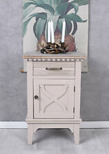 Nightstand Country Style Night Table Bedside Console Wardrobe Antique