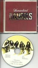 LITTLE ANGELS WOMANKIND LTD ED 3 TRACK PICTURE CD SINGLE SPECIAL LOGO CASE 1992