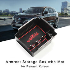 New Armrest Storage Box for Renault Koleos 2017 2018 Central Console Glove Tray