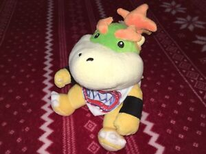 "Official 7"" Sanei Super Mario BOWSER JR. Plush Nintendo Toy Doll JAPAN 2011"