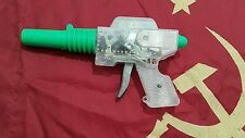 VINTAGE SPACE TOY FRICTION ASTRONAUT GUN PISTOL SKELETON  70's CCCP RUSSIA USSR