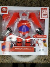 Big Hero 6 Tv Armored Up Baymax 2.0 Figure Bandai New In Hand Kids Toy Gift