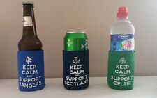 Christmas Gift Can & Bottle Scotland Coolers Great Fan Gift Any 3 for 10!!