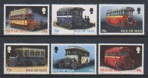 Isola di Man - 1999, Manx Autobus Set - Nuovo senza Linguella - Sg 845/50