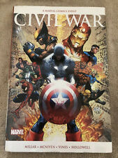 Civil War Marvel Deluxe Oversize Hardcover Out Of Print Michael Turner Variant