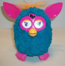 Hasbro Furby 2012 Bermuda Teal Orange Pink Electronic Interactive Works