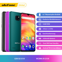 "Ulefone Note 7 6.1"" Unlocked Cell Phone Android9.0 QuadCore Dual SIM Smartphone"