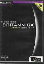 ENCYCLOPEDIA BRITANNICA MILLENIUM 2ND EDITION PC
