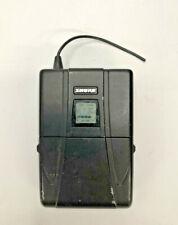 Shure U1-UA Bodypack Wireless Body Pack Microphone Transmitter 792-806 MHz