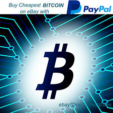 Acheter Bitcoin for £ 6.85 sur Ebay avec Paypal-Cryptocurrency Investment BTC