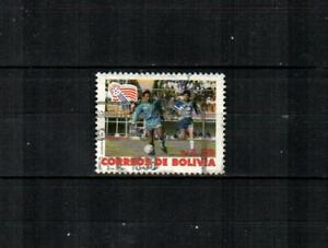 BOLIVIA Scott's 852 ( 1v ) World Cup Soccer F/VF Used ( 1992 )