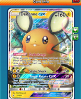 DIGITAL Dedenne gx pokemon tcg online