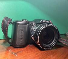 Nikon COOLPIX L100 10.0MP Digital Camera - Black Good Condition Lightly Used