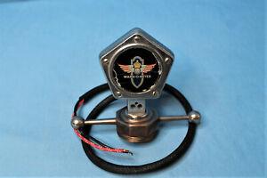 Rare! Vintage 1920s Warn-O-Meter Motometer Stewart Warner Temperature Gauge SW