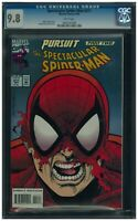 Spectacular Spider-Man 211 CGC 9.8 White Pages! Chameleon App! 1 of ONLY 6 !