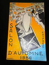 catalogue salon de la peinture - sculpture - gravure année 1956  ( ref 15 )