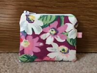 Mini Coin Purse (11x9cm) Made With Cath Kidston Bright Painted Daisy Fabric