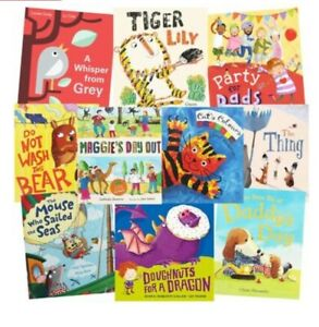 10 for £10 kids Picture Books Cat and Mouse Adventures Book Bundle RRP £59.99