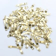 100pcs Saw Tooth Hangers Oil Painting Picture Frame Hooks Hanging 41 x 7mm