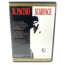 Scarface (DVD, 1998) Al Pacino Collector's Edition