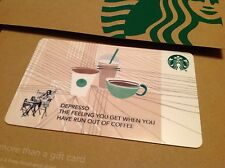 """STARBUCKS GIFT CARD - CO BRANDED  """" CORE TRIO CUPS"""" COLLECTABLE & NO CASH VALUE"""
