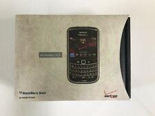 New listing New Box Sealed Blackberry Bold 9650 Smartphone Phone Cell Verizon Black Rcs71Cw