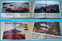 Porsche 928 GT mit 330PS Literaturpaket Nr.1