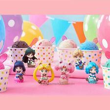 Sailor moon Anime Manga Mini Figuren 6er Set H:5cm Neu