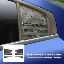 2X Side Rear Window Decals Trim Sticker Trim for Dodge Charger 2015+ Accessories