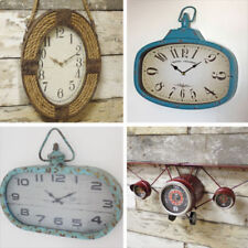 Industrial Analogue Quartz (Battery Powered) Wall Clocks