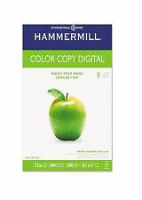 """Hammermill - Color Copy Digital Paper, 32lb, 100 Bright, 8-1/2 x 11"""" - Ream"""
