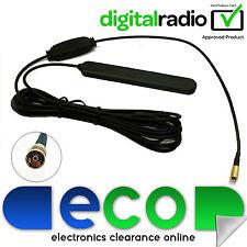 Universal DAB + interno de pequeñas y medianas empresas pantalla de montaje de vidrio de Radio Estéreo De Coche Antena