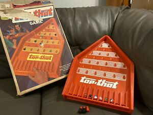 Vintage Top.That Game 1972 by Ideal Toys Retro Collectable Original Box