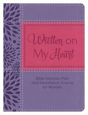 Written on My Heart: Bible Memory Plan and Devotional Journal for Women, Fischer