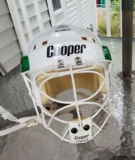 Cooper Sk 2500 S Helmet With Cooper HM40 Cat's Eye Cage