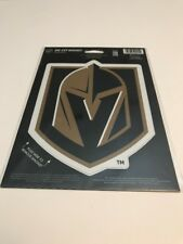 "VEGAS GOLDEN KNIGHTS VINYL DIE-CUT LOGO MAGNET 6""X9"" HEAVY DUTY HIGH QUALITY"