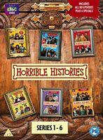 Horrible Histories - Series 1-6 [DVD][Region 2]