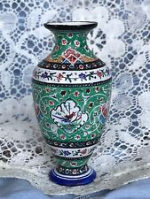 Dollhouse Vintage Metal Vase Miniature