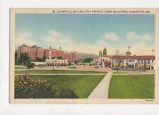 Country Club Plaza 47th & Mill Creek Boulevard Kansas City Postcard Usa 511a